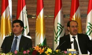 رئيس وزراء اقليم كردستان في بغداد بشأن صادرات النفط والميزانية