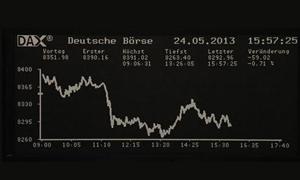 الاسهم الاوروبية تغلق عند مستوى مرتفع جديد في خمسة أعوام ونصف