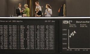 الأسهم الاوروبية تتراجع بعد تسجيل أعلى مستوى في 4 أشهر