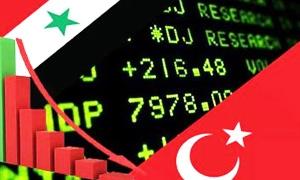الصادرات التركية الى سوريا تنخفض الى 360 مليون دولار خلال الاشهر 8  من العام 2012