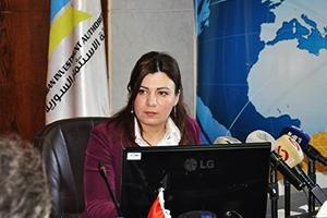 مرسوم بتعيين الدكتورة إيناس الأموي مديراً عاماً لهيئة الاستثمار السورية