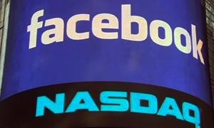 فيسبوك يسجل أول تداول بثمانية ملايين سهم منذ دخوله البورصة