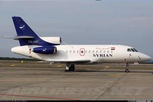سوريا تطرح طائرة الشخصيات الهامة (فالكون 900 ) للبيع؟ السعر وما السبب؟