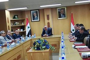 الغربي يبحث مع وفد اقتصادي أردني سبل تطوير العلاقات الاقتصادية بين البلدين