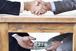 خسائر الفساد في العالم 12 تريليون دولار سنوياً