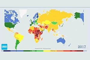 سوريا و تركيا ضمن قائمة الدول الأكثر تراجعاً في العالم ضمن مؤشر هشاشة الدول لعام 2017