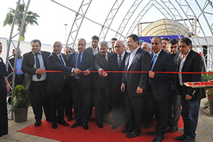 معرض سيريافود ينطلق في العاصمة دمشق بمشاركة أكثر من 85 شركة و بحضور عدد كبير من التجار ورجال الأعمال