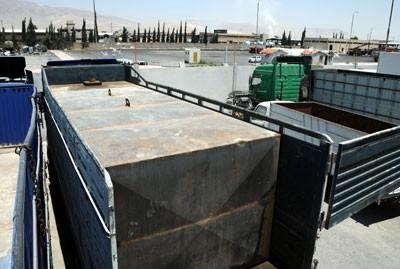 ضبط ومصادرة 2000 لتر بنزين معد للتهريب في درعا