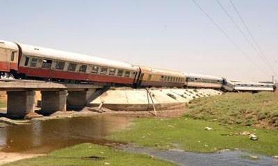 تخريب في السكك الحديدية منع وصول المازوت والغازوالمواد الغذائية للمواطنين