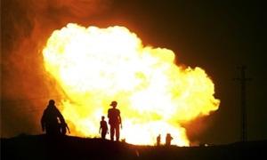 تفجير بخط أنابيب تركي ينقل نحو ربع صادرات النفط العراقية