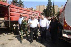تخصيص  100 مليون ليرة سورية دعماً لفوج الإطفاء بحلب