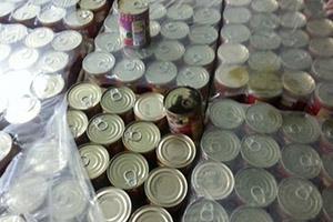 ضبط معمل لمواد غذائية غير صالحة للاستهلاك البشري في جرمانا