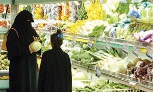 40 مليون دولار قيمة الانفاق السنوي للسعوديين على المواد الغذائية