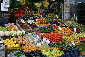 رفع للأسعار بشكل عشوائي في أسواق دمشق !!.. الفليفلة بـ 500 ليرة.. والفريكة فوق الـ 1000 ليرة