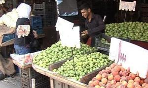 التجارة الداخلية بدمشق: عزوف الفلاحين عن الزراعة أدى لارتفاع كبير بالأسعار