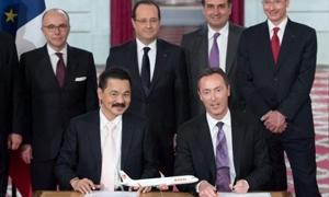 ايرباص تنتزع اكبر عقد في تاريخها تبلغ قيمته 18,4 مليار يورو مع شركة أندونيسية