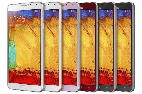 سامسونج الكترونيكس توسع مجموعة هاتف GALAXY Note 3 لتضم ألوان جديدة..أهمها الأحمر والذهبي