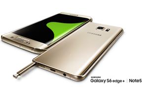 مقارنة بين مواصفات هاتفي سامسونج  Galaxy Note 5 وS6 Edge Plus