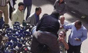 محافظ حلب: إلغاء 50 رخصة غاز...وقواقل المواد وصلت إلى حلب