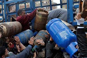 أزمة غاز في حمص .. والاسطوانة بـ10 آلاف ليرة في السوق السوداء