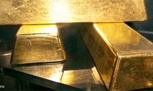 الذهب دون 1300دولار متجهاً  لتسجيل ثاني خسارة شهرية في 3أشهر