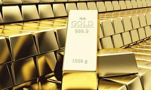 الذهب العالمي يهبط لأدنى مستوى في شهر في سابع جلسة على التوالي من الخسائر