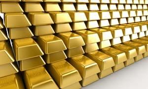 الذهب يتراجع إلى ادنى مستوى في أربعة اشهر