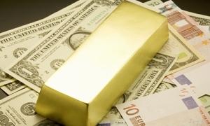 الذهب يحافظ على سعره 3550 والدولار واليورو يرتفعان بشكل بسيط