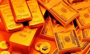 انخفاض اليورو يجر الذهب وراءه