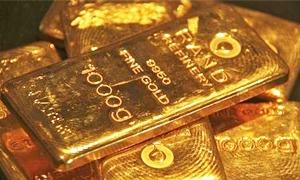 الذهب يهبط مع تحسن شهية المستثمرين لليورو والاسهم