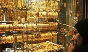 غرام الذهب المحلي يتراجع لأدنى سعر له في أربعة أشهر ونصف.. والأونصة بـ1344 دولاراً