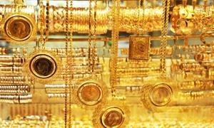 غرام الذهب 21 قيراطاً يسجل ارتفاعاً بنحو 100 ليرة.. والاونصة عالمياً تهبط لآدنى مستوى في شهر
