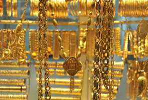 اسعار الذهب في سورية ليوم السبت 28-5-2016.. الغرام يواصل التراجع وينخفض 400 ليرة مسجلاً 19300 ليرة