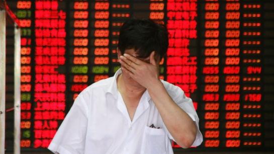 بورصتا الصين تغلقان بعد تراجعهما اكثر من 7 %