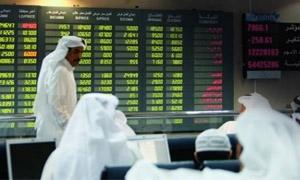 أسواق الاسهم الخليجية تتراجع 3.2% في ابريل الماضي
