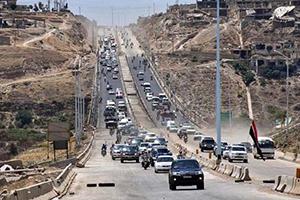 افتتاح أوتستراد حمص حماة الدولي أمام حركة النقل للعموم