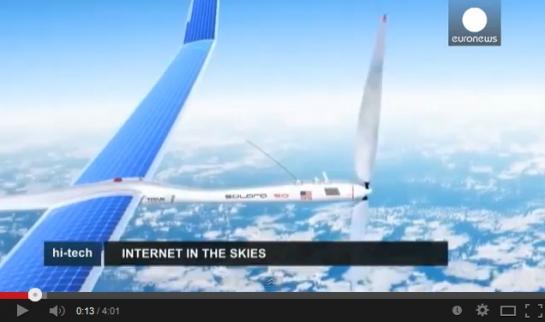 فيديو: إنترنت في السماء.. وصفقة جديدة لفيسبوك