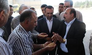 مخلوف يتفقد الواقع الخدمي وتوزيع المحروقات في ريف دمشق