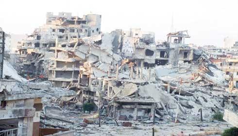 حمص: 30 مليون ليرة لترحيل الأنقاض من الشوارع