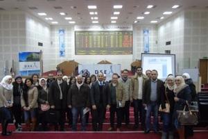 ورشة عمل لموظفي المصرف الدولي للتمويل و المركزي المالي للخدمات و الوساطة المالية في سوق دمشق