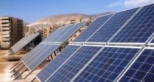 الحكومة السورية تعلن موافقتها على إقامة ستة معامل للسخان الشمسي