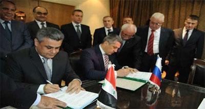 هيئة الموارد المائية توقع عقدا مع شركة روسية لتنفيذ مشروع ري دجلة بكلفة 193 مليون يورو