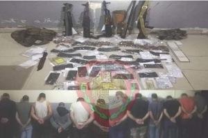 طرطوس: القبض على 12 لص ومصادرة أسلحة كانت بحوزتهم