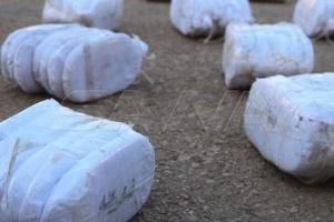 ضبط 85 كغ من الحشيش المخدر معدة للتهريب إلى الأردن