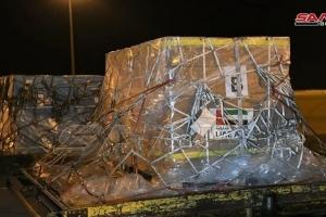 مساعدات غذائية وطبية إماراتية تصل إلى سوريا