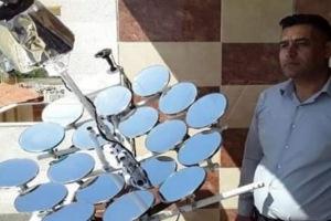 مخترع سوري يبتكر جهاز طاقة شمسية للإستغناء عن الكهرباء والغاز