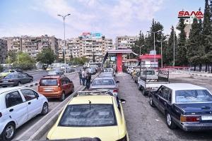 أزمة البنزين من جديد!! … تخفيض حصة دمشق بنسبة 30% وفي الريف 45%