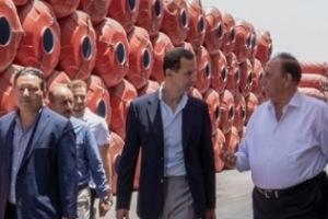 الرئيس الأسد: سورية لديها الإمكانيات لتجاوز الحصار وخلق فرص الاستثمار