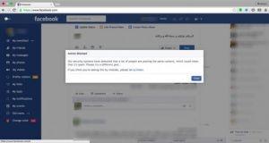 فيس بوك يرفع الحجب عن عبارة