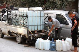 منع بيع بيدونات المياه في دمشق...لهذا السبب!